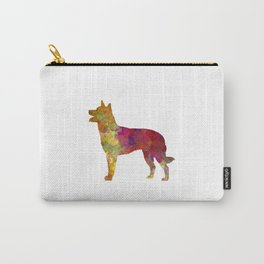 Australian Kelpie in watercolor Carry-All Pouch