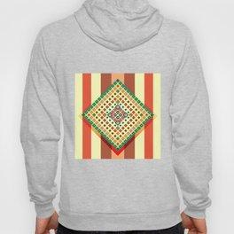 Vintage ethnic geometric print Hoody