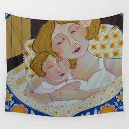 """Nighty Night, My Sweet Girl"" Wall Tapestry"