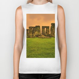 The Standing Stones - Stonehenge Biker Tank