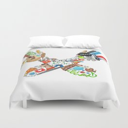 Don't Forget (Traditional) Duvet Cover