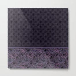 Anemones , plum color Metal Print