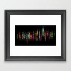 PXL V Framed Art Print