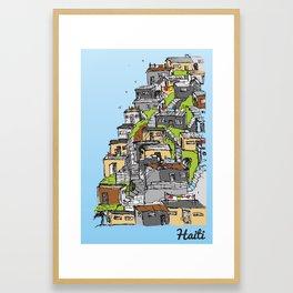 Haiti Framed Art Print