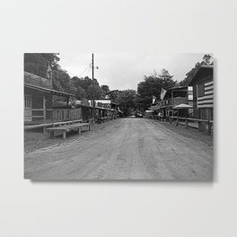 A Country Town Metal Print