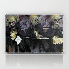 Hear No Evil, See No Evil, Speak No Evil Laptop & iPad Skin