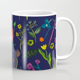 Floral love I pattern Coffee Mug