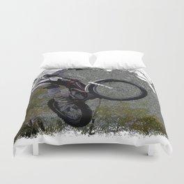 Off-roading - Motocross Racing Duvet Cover