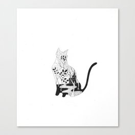 Connoisseur of Comfort Canvas Print