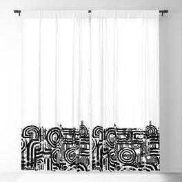 Disorganized Speech #2 Blackout Curtain