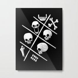 Human bones Metal Print