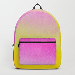 Abstract painting in modern fresh colors Backpack