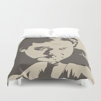 bill Duvet Covers featuring Bill Hicks by Finlay McNevin