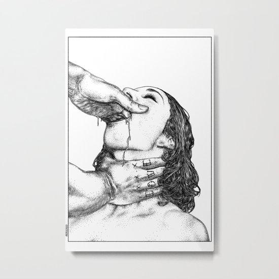 asc 716 - Le désir secret (True love) Metal Print