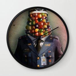CHAPA CHOCLO (policemen) Wall Clock