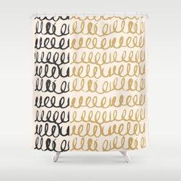 Brush Pattern Abstract #society6 #decor #buyart Shower Curtain