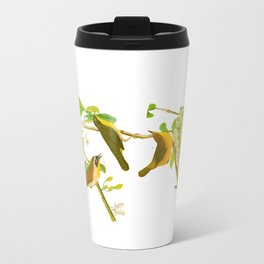 Yellow-breasted Warbler Bird Travel Mug