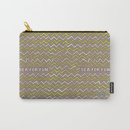 Sea for fun (brown) Carry-All Pouch