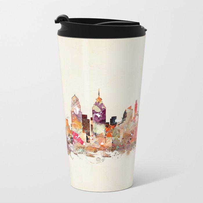 philadelphia pennsylvania skyline Metal Travel Mug