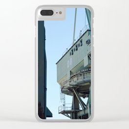 construction time again Clear iPhone Case