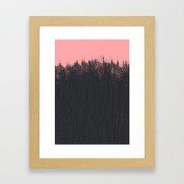 Blackstone and pink Framed Art Print