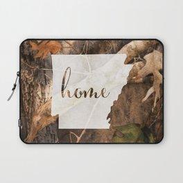 Arkansas is Home - Camo Laptop Sleeve