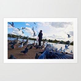 Birdman II Art Print