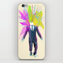 Shock to the system iPhone Skin