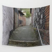 winchester Wall Tapestries featuring Winchester Alley by Ashley Callan