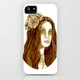 Lana Banana iPhone Case