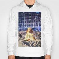 egypt Hoodies featuring Egypt 2079 by John Turck