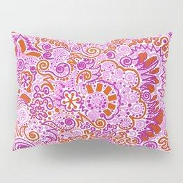 Pink + Orange = YES Pillow Sham