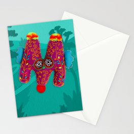 """Letter """"M"""" - Living Letters ABC Stationery Cards"""