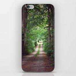 The long driveway iPhone Skin