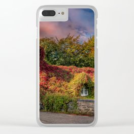 Welsh Tea Room LLanrwst Clear iPhone Case