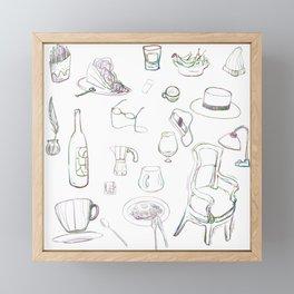 Sundry & Zakka  Framed Mini Art Print