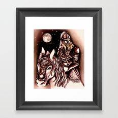 Eorlingas Framed Art Print