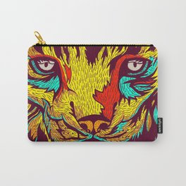 BE RARE* - Iberic Lince Carry-All Pouch
