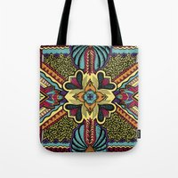 persian Tote Bags featuring Persian by Guanabana
