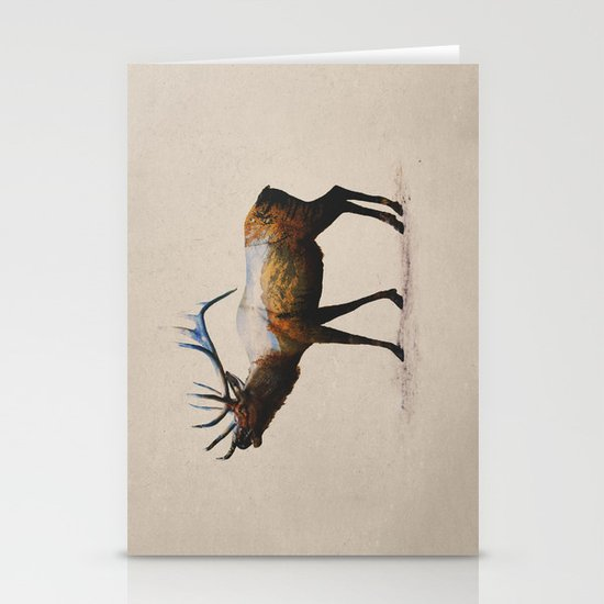 The Rocky Mountain Elk Stationery Cards