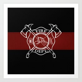 Maltese Cross Art Print