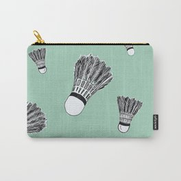 WHO WANTS TO PLAY BADMINTON? - MINT Carry-All Pouch
