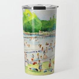 Deep Eddy Pool - Austin, Texas Travel Mug