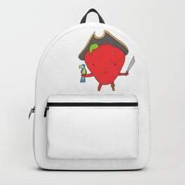 The Strawberry Pirate Backpack