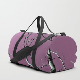 Reaching Violet Duffle Bag