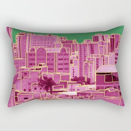 Skyline VI Rectangular Pillow