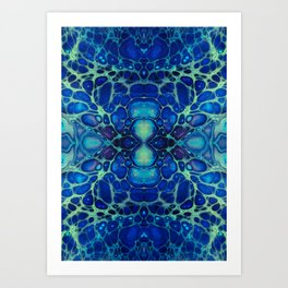 Fragmented 76 Art Print