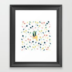 Fruta Framed Art Print