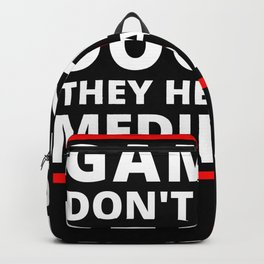 Gamers Don't Need A Doctor They Heal With Medipacks Video Gamer Game Backpack