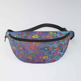 Frilly Fish Fanny Pack